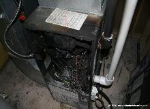 Burned Gas furnace