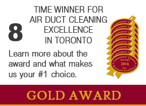 Consumer's Choice Award for Best Duct Cleaner in the Toronto Area