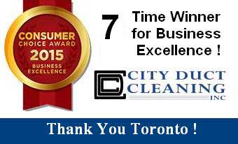 Consumer's Choice Award for Best Duct Cleaner in 2015
