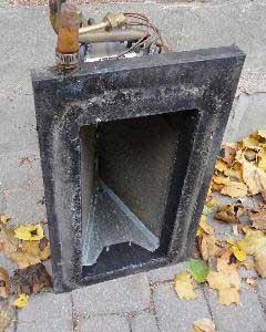 Dirty air system