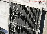 Fire damaged-air vent