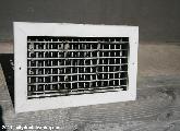 Sooty air vent