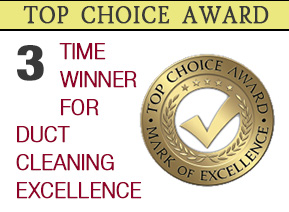 Top Choice Award for Air Duct Cleaning Excellence in Toronto