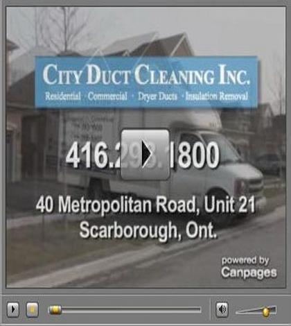 City Duct Cleaning In Action