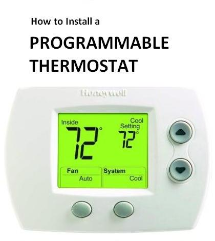 32mmx how to install a programmable thermostat