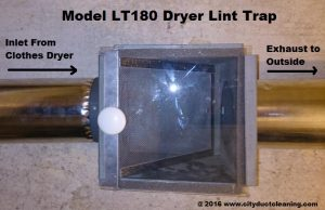 Secondary Dryer Lint Trap For Gas Dryer