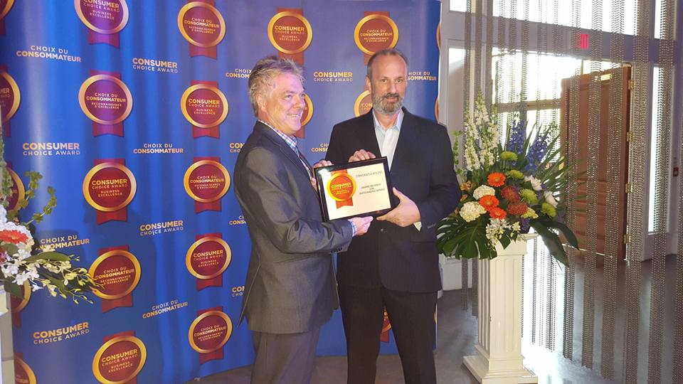 City Duct Cleaning Toronto wins Consumers Choice Award