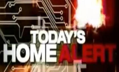 Todays home alert