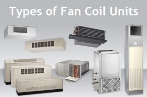 Types of fan coil units in Toronto.