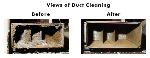 dirty air duct